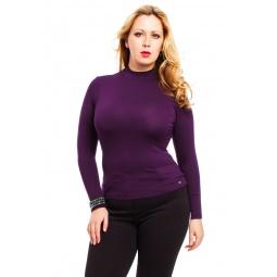 фото Водолазка Mondigo XXL 036. Цвет: баклажановый. Размер одежды: 56