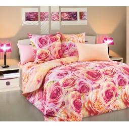 фото Комплект постельного белья Белиссимо «Романс». 2-спальный. Размер простыни: 220х195 см