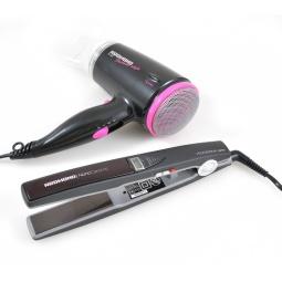 фото Выпрямитель для волос Redmond RCI-2304 и фен Redmond RF-507