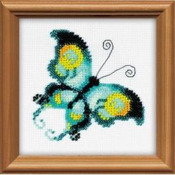 фото Набор для вышивания бисером Сотвори Сама «Малахит»