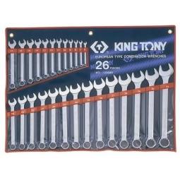 Купить Набор ключей комбинированных King Tony KT-1226MR