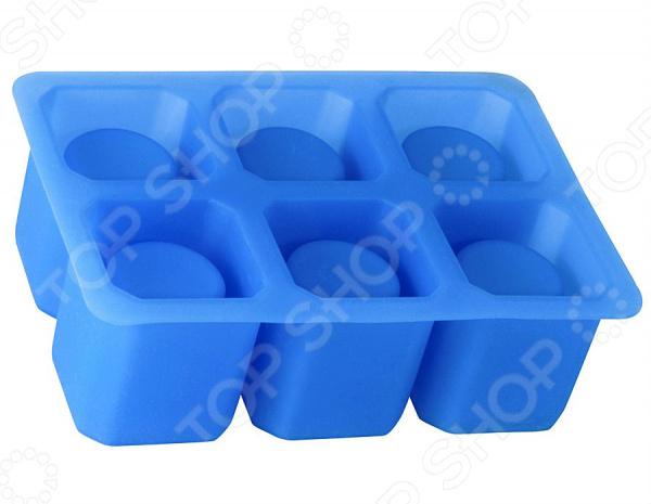 Форма для льда Regent SiliconeФормы для льда<br>Форма для льда Regent Silicone будет незаменима для тех, кто ценит совершенство во всем. Форма специально предназначена для создания уникальной формы люда для различных напитков и коктейлей. Необычный внешний вид льдинок в форме стопок привлечет гостей любой вечеринки, и ваши напитки приобретут ещё большую популярность. Такие льдинки будут отличным вариант для подачи холодных алкогольных напитков. Благодаря тому, что форма выполнена из силикона больше нет нужды использовать подручные средства для того, чтобы вытащить заветный морозный кусочек. Мягкая и гибкая форма позволит достать ледяную стопку без особых усилий. Чтобы стопки были более прозрачными используйте питьевую или фильтрованную воду. Форма отличается простотой в использовании и уходе. Её можно мыть в посудомоечной машине без использования абразивных моющих средств. Форма рассчитана на 6 стопок.<br>