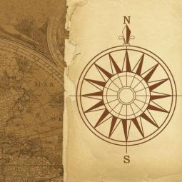 фото Подушка декоративная Феникс-Презент «Навигация»