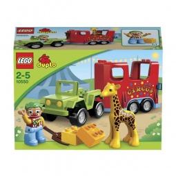 фото Конструктор LEGO Цирковой автофургон