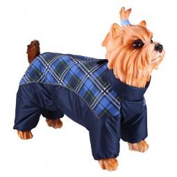 Купить Комбинезон-дождевик для собак DEZZIE «Вест-хайленд-уайт-терьер». Цвет: синий