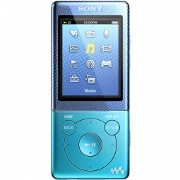 фото MP3-плеер SONY NWZ-E473. Цвет: голубой