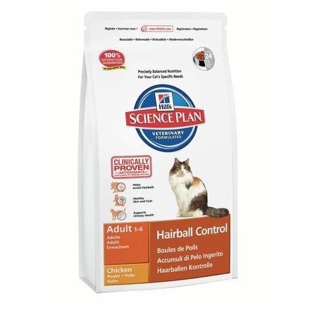 Купить Корм сухой диетический для кошек Hill's Science Plan Hairball Control