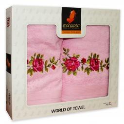 фото Комплект из 2-х махровых полотенец Mariposa Roses