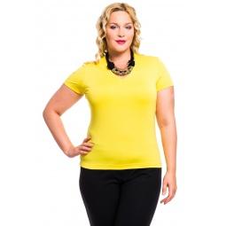 фото Футболка Mondigo XL 056. Цвет: желтый. Размер одежды: 52