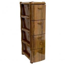 Купить Комод 4-х секционный узкий IDEA «Альт Деко. Дерево»