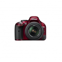 фото Фотокамера цифровая Nikon D5200 Kit 18-55 VR. Цвет: красный