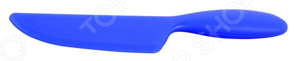 Нож Regent кулинарный SiliconeНожи<br>Нож Regent кулинарный Silicone качественное изделие из прочного силикона. Этот нож пригодится, например, при нарезке пиццы или хлебобулочных изделий, пирожных, тортов, а также смешивании пищи в различных видах посуды в том числе и с противопригарным покрытием керамическим или тефлоновым . Форма полотна изделия напоминает лопатку, поэтому нож поможет и во время сервировки блюд. Силиконовый нож идеальный вариант для любой кухни. Он не впитывает запахи, легко очищается и не содержит токсичных веществ. К тому же, силикон легко переносит повышенные температуры. Такой яркий нож с лаконичным дизайном будет замечательно смотреться в интерьере любой кухни, внесет в него новизну и особый уют.<br>
