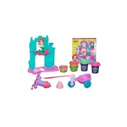 Купить Набор игровой для лепки Play-Doh «Замок и карета Ариэль»