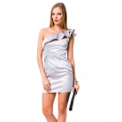 Фото Платье Mondigo 9664. Цвет: серый. Размер одежды: 44