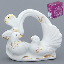 Купить Фигурка декоративная Elan Gallery Голуби с сердцем