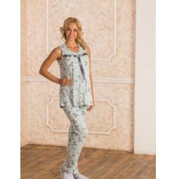 Купить Пижама для беременных Nuova Vita 307.2. Цвет: голубой