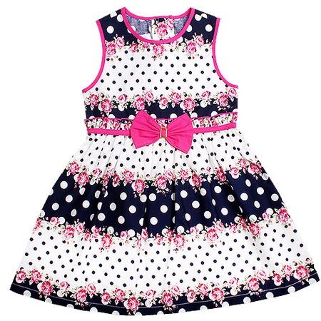 Купить Детское платье WWW Stilyagi ЯВ105897. Цвет: синий