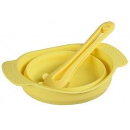фото Посуда складная Pomi d'Oro «Весна». Цвет: желтый