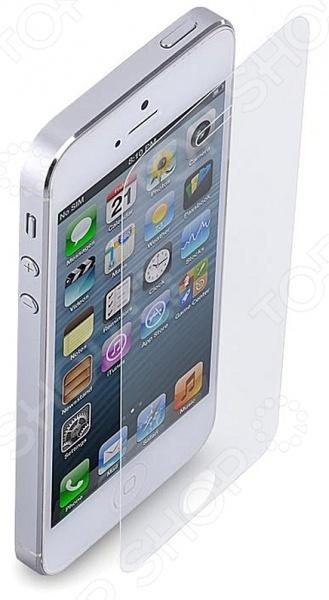 Стекло защитное для IPhone 5 Mitya Veselkov STEKLO-001 для iPhone 5Защитные пленки и наклейки для мобильных телефонов<br>Стекло защитное для IPhone 5 Mitya Veselkov STEKLO-001 для iPhone 5 высококачественное и прочное изделие, которое поможет защитить гаджет от повреждений, царапин, ударов и загрязнения. Прозрачное стекло с олеофобным покрытием, которое препятствует образованию следов жира после прикосновений. В процессе производства изделие проходит специальную обработку, которая позволяет при минимальной толщине обеспечить высокую степень прочности и твердости, чтобы максимально эффективно противостоять механическим воздействиям. Наличие защитного стекла не затрудняет пользование гаджетом и не влияет на чувствительность сенсорного экрана. Оно имеет специальную клейкую поверхность, защищенную пленкой. Вы самостоятельно, без помощи специалистов, сможете приклеить стекло или же снять, если это необходимо. Оно наносится аккуратно, без пузырей или складок, а после снятия не оставляет каких-либо следов.<br>
