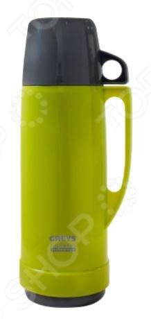 Термос Greys SM-100IТермосы и термокружки<br>Термос Greys SM-100I устройство для длительного хранения горячих и холодных напитков при постоянной температуре. Он станет прекрасным дополнением к набору ваших кухонных принадлежностей и пригодится для использования в поездке или походе. Корпус термоса выполнен из пластика, а внутренняя колба из натриево-силикатного стекла. Колба снабжена двумя резиновыми амортизаторами и надежно защищена от ударов. Термос не рекомендуется мыть в посудомоечной машине и хранить в морозильной камере.<br>