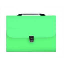 фото Папка-портфель Silwerhof Transnebel 322814. Цвет: зеленый
