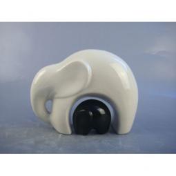 фото Набор фигурок Феникс-Презент «Слоны». Цвет: белый, черный
