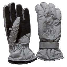 Купить Перчатки горнолыжные GLANCE Crystal (2012-13). Цвет: серый