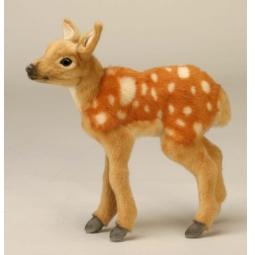 фото Мягкая игрушка для ребенка Hansa «Олененок Бэмби»
