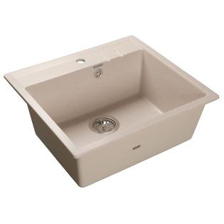 Купить Мойка кухонная GranFest Quadro GF-Q560. Цвет: бежевый