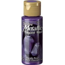фото Краска акриловая перламутровая DecoArt Dazzling Metallics. Цвет: фиолетовый
