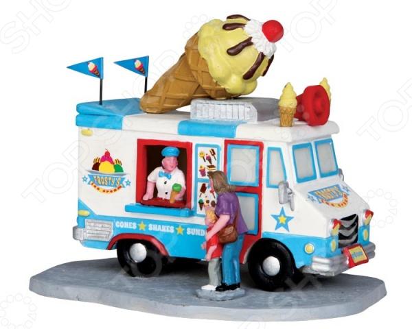 Фигурка керамическая Lemax «Машина по продаже мороженого» фигурка керамическая lemax продавец хот догов