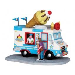 Купить Фигурка керамическая Lemax «Машина по продаже мороженого»