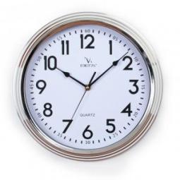 фото Часы настенные Вега Н 0144 «Классика металлик»