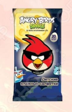 Набор салфеток влажных детских Авангард AB-48737 Angry Birds набор салфеток влажных антибактериальных авангард sf 70900