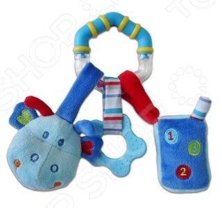 Игрушка подвесная Жирафики 939289 «Динозаврик»Погремушки. Подвески<br>Игрушка подвесная Жирафики 939289 Динозаврик это милая подвесная игрушка, которая точно понравится вашему ребенку. Яркая игрушка привлечет внимание малыша, поможет ему расслабиться и отвлечься от неприятных впечатлений. Внутри есть бубенчик, поэтому если ребенок потрясет игрушкой в воздухе, то он услышит приятный звон. При игре с такой игрушкой ребенок развивает слух, зрение, мелкую моторику рук и тактильные ощущения.<br>