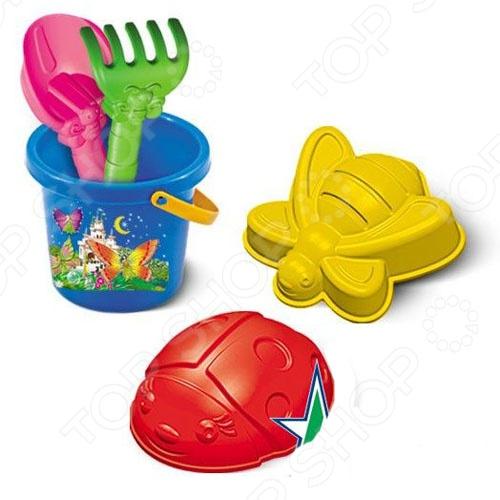 Набор для игры в песочнице Нордпласт №81 игрушки в песочницу happy baby набор для игр с песком pie