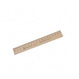 фото Линейка Красная звезда деревянная. Длина: 17 см
