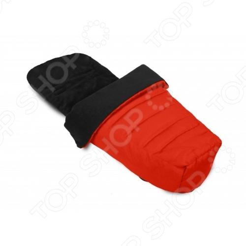Муфта для ног Baby Jogger для колясок City SelectАксессуары к коляскам<br>Муфта для ног Baby Jogger для колясок City Select - необходимая вещь для прогулок с коляской в зимнее время года. Такая муфта согреет ножки малыша даже в самые сильные холода. Отлично подходит для колясок серии Сити Селект, и имеет натяжной карман для крепления верхнего края муфты к верху спинки коляски. Модель представляет собой мягконабивной конверт с флисовой обшивкой на молнии и с несколькими прорезями для ремней безопасности для удобства расположения муфты при любом положении спинки коляски. Удобная и практичная модель подарит комфорт и уют вашему малышу в коляске.<br>