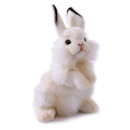 Купить Мягкая игрушка Hansa «Белый кролик»