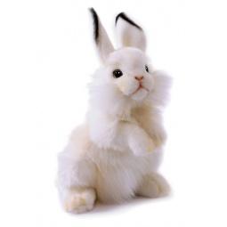 фото Мягкая игрушка Hansa «Белый кролик»