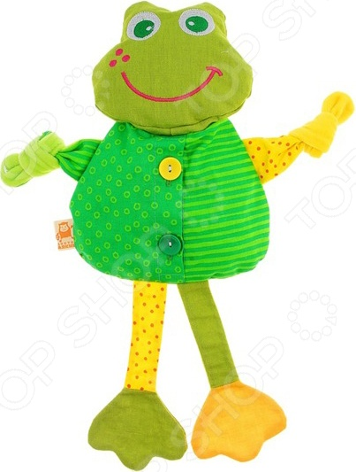 Мягкая игрушка Доктор мякиш Лягушка доктор носов крем при простуде 30мл