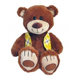 фото Мягкая игрушка Fluffy Family «Мишка Тепа в жилетке»