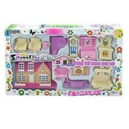 фото Кукольный дом с аксессуарами Shantou Gepai 626371