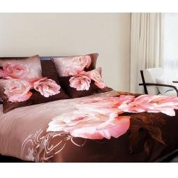фото Комплект постельного белья Buenas Noches Kompliment. Satin Fotoprint. 2-спальный