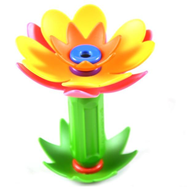 фото Конструктор магнитный BONDIBON «Забавные Цветы» 110