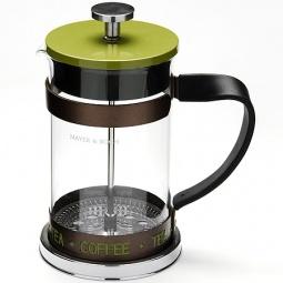 фото Френч-пресс Mayer&Boch Coffee. Цвет: зеленый. Объем: 1 л