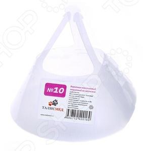 Воротник защитный для собак и кошек ТАЛИСМЕД пластиковый защитный №10 аксессуар противоударное стекло для xiaomi redmi 6x innovation 2d full glue cover white 12772