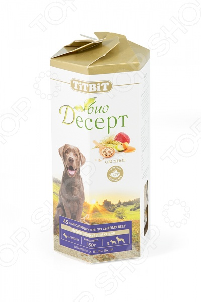 Лакомство для собак TiTBiT 5592 «Печенье овсяное»