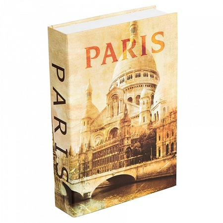 Купить Книга-сейф Alparaisa «Париж»