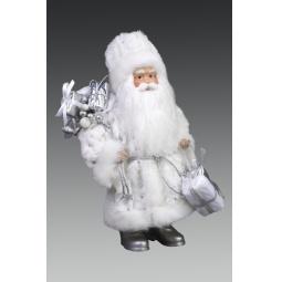 фото Игрушка новогодняя Holiday Classics «Дед Мороз в серебряных башмаках»